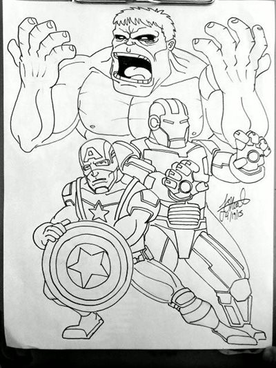 Avenges by Franklin O'Neal