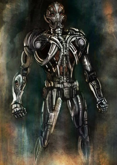 Ultron Prime by Richard Chin