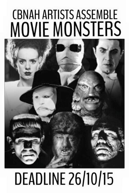 ARTISTS ASSEMBLE - MOVIE MONSTERS