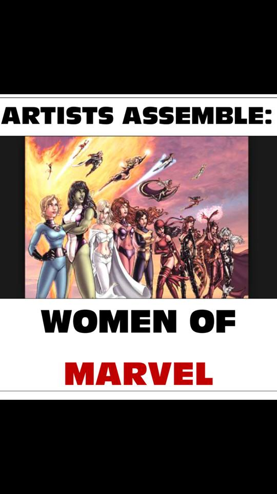 Artists Assemble: Women of Marvel