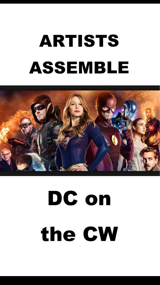 ARTISTS ASSEMBLE! DC on the CW