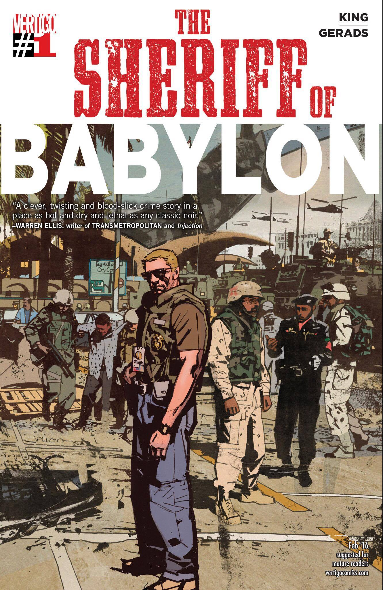 WHY AREN'T YOU READING SHERIFF OF BABYLON? Review