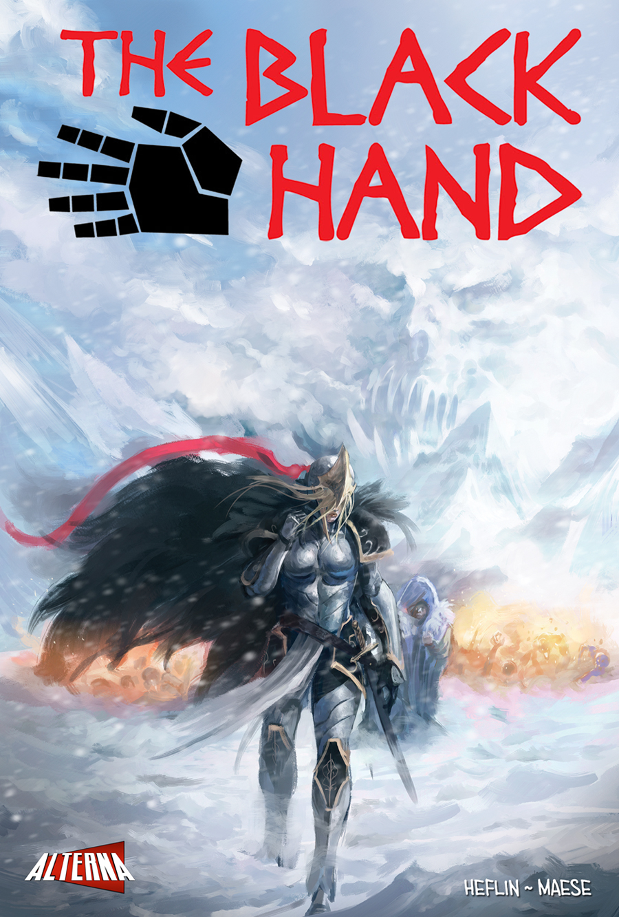 THE BLACK HAND #4 Preview
