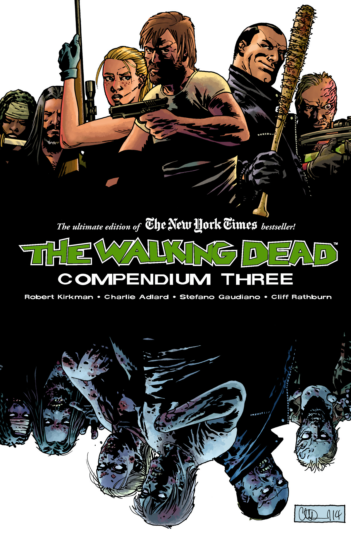 THE WALKING DEAD: COMPENDIUM VOLUME THREE WILL BE OUT JUST IN TIME WHEN TV SERIES RETURNS