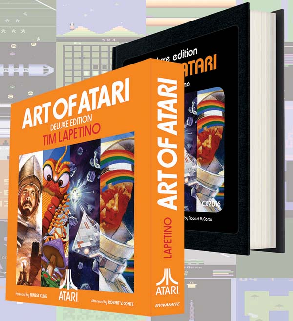 DYNAMITE ENTERTAINMENT ANNOUNCES THE ART OF ATARI® DELUXE EDITION!