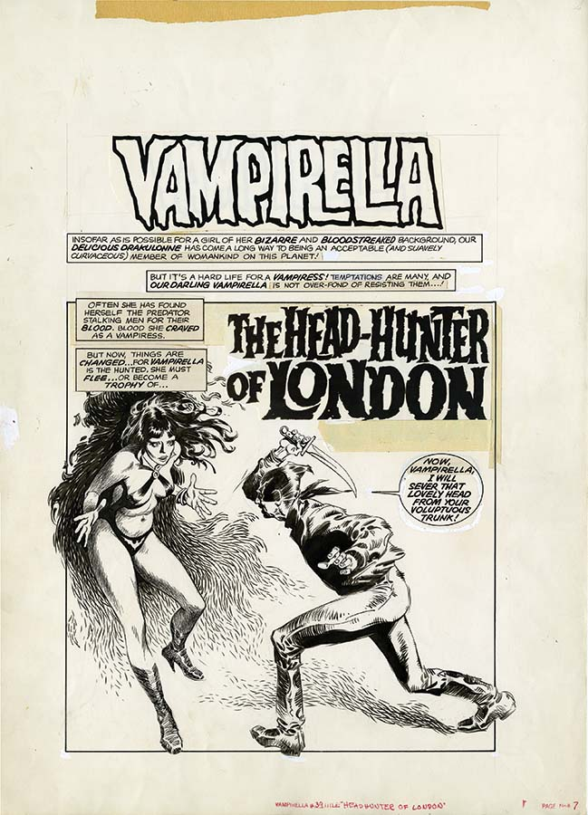Dynamite Entertainment Announces The Best Of Vampirella Magazine Art Edition