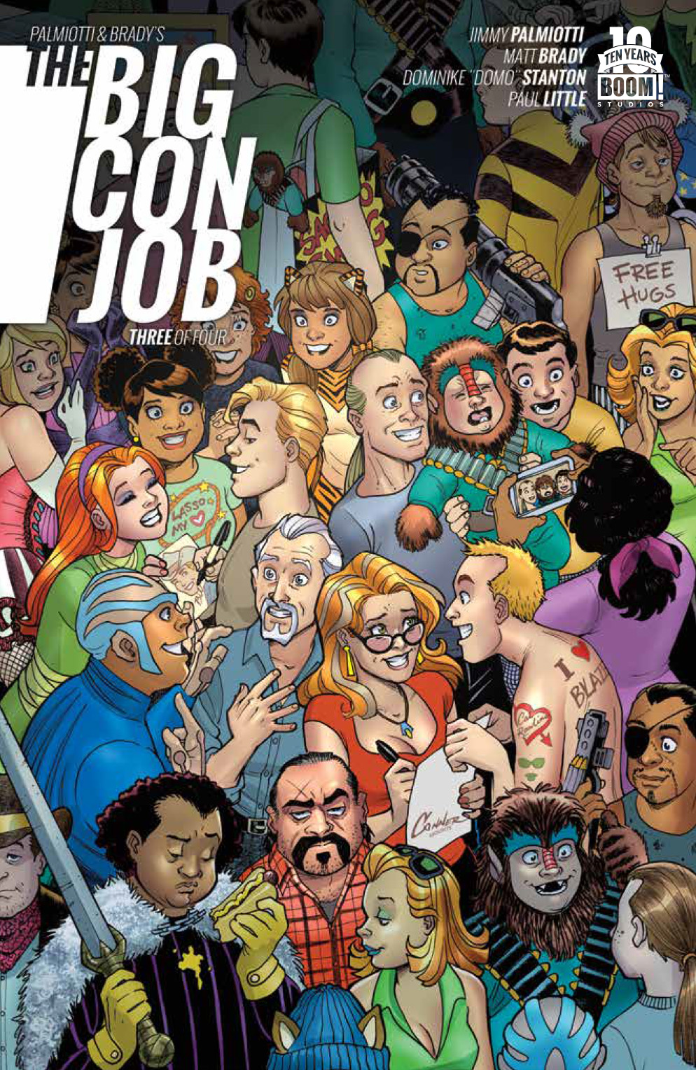 Palmiotti & Brady's The Big Con Job #3 Preview
