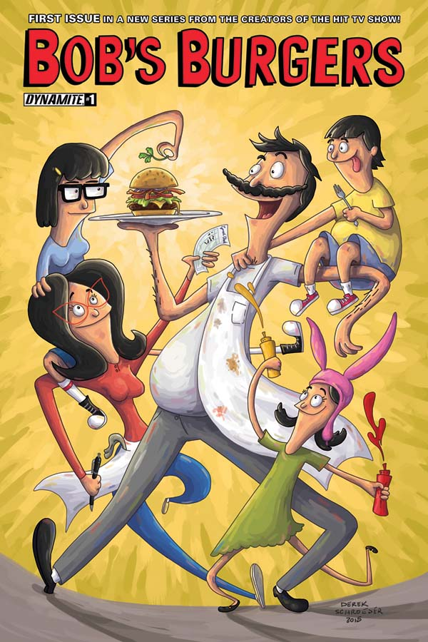 BOB'S BURGERS ONGOING #1 IN JULY FROM DYNAMITE