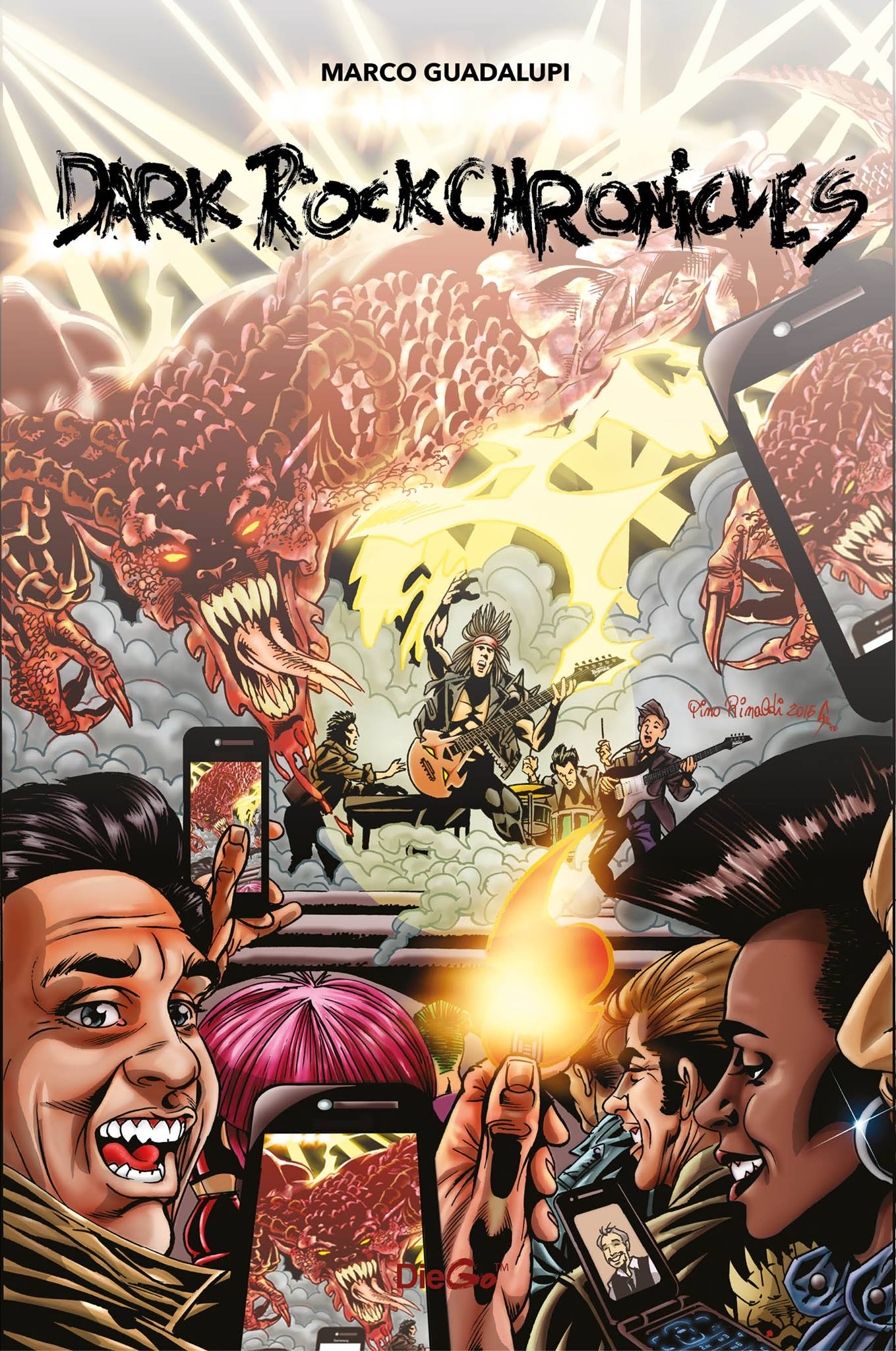 Diego Comics Publishing Presents Dark Rock Chronicles