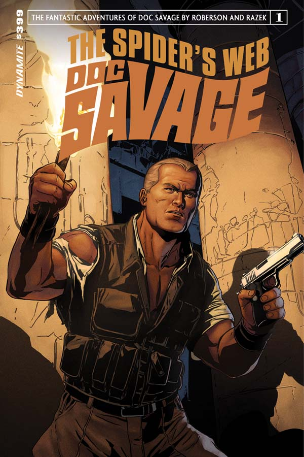 Doc Savage Returns for The Spider's Web in December