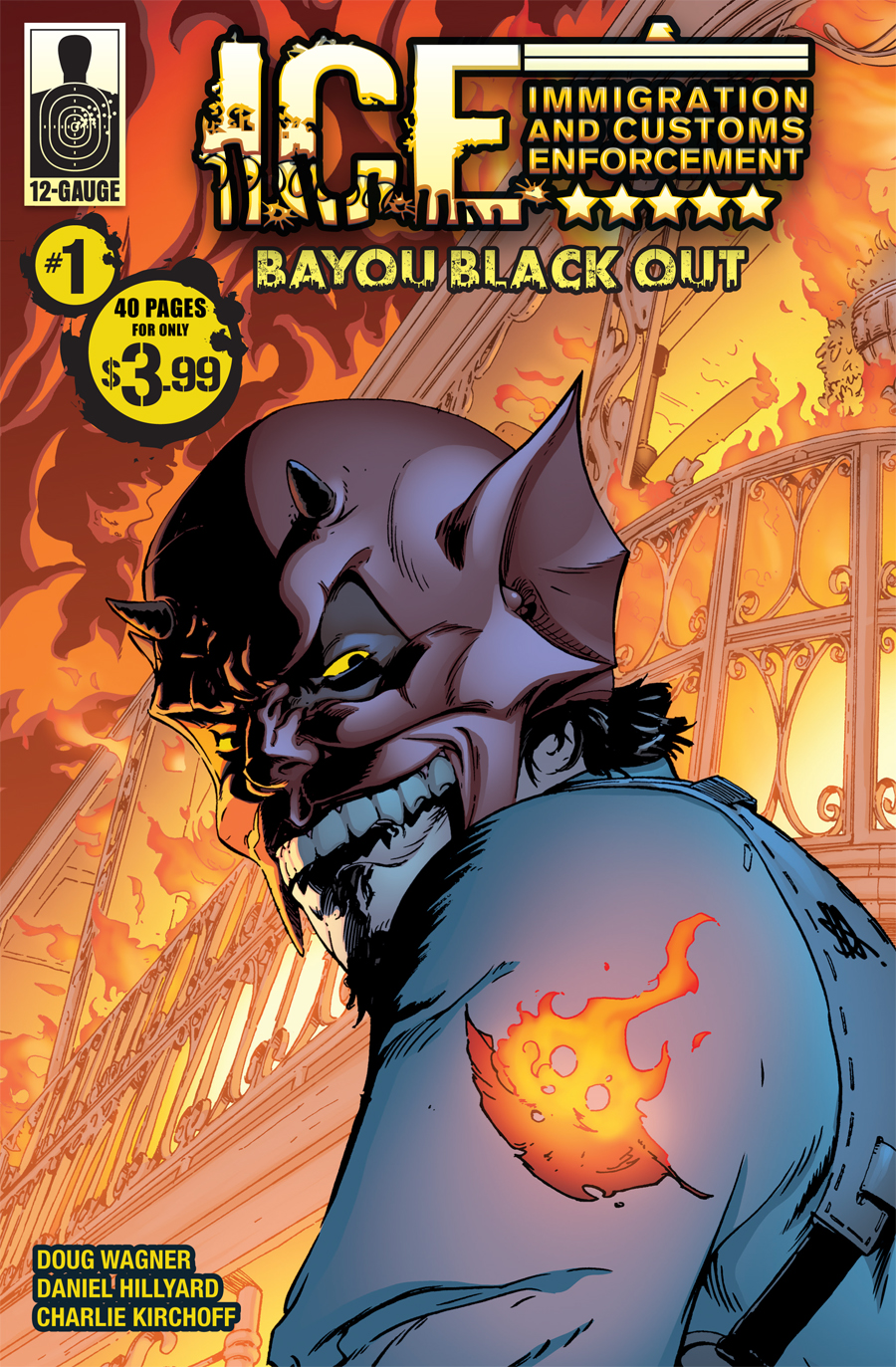 Preview: ICE: BAYOU BLACKOUT #1
