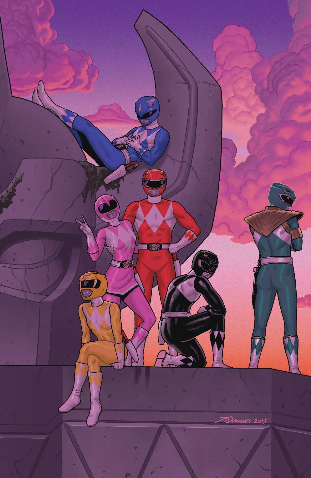 Mighty Morphin Power Rangers #2 Preview