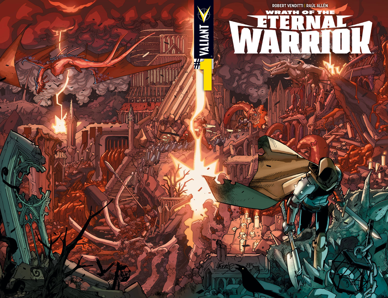 Valiant Release Complete Covers for Wrath of the Eternal Warrior #1