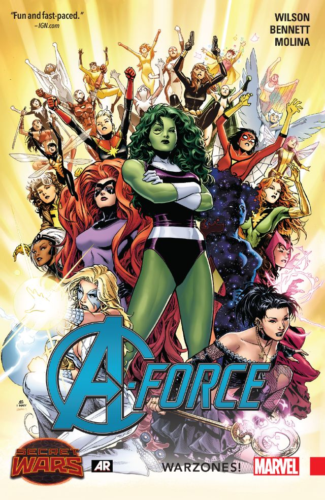Marvel Unlimited Gets Grisbyed: A-Force 2015