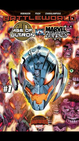 Marvel Unlimited Gets Grisbyed: Age of Ultron vs Marvel Zombies