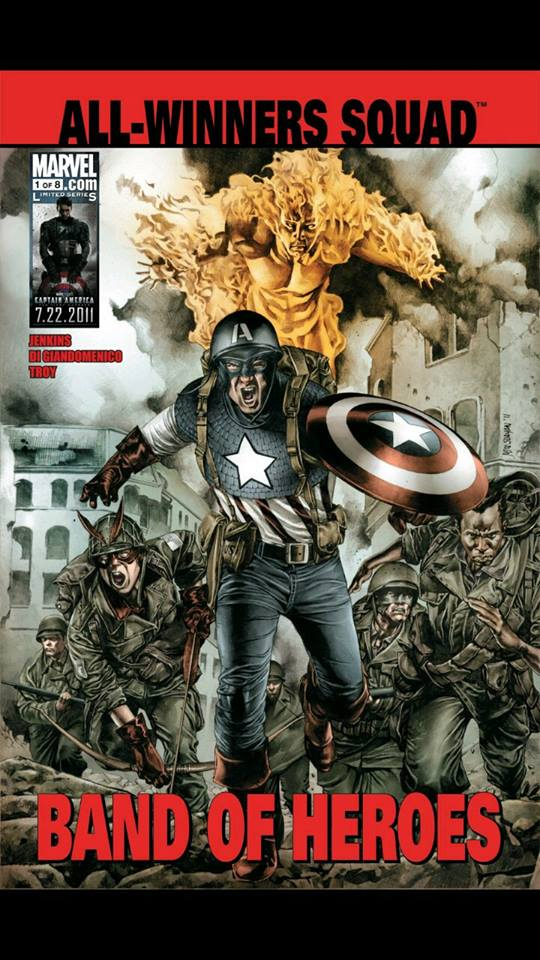 Marvel Unlimited Gets Grisbyed: All Winners Squad: Band of Heroes #1