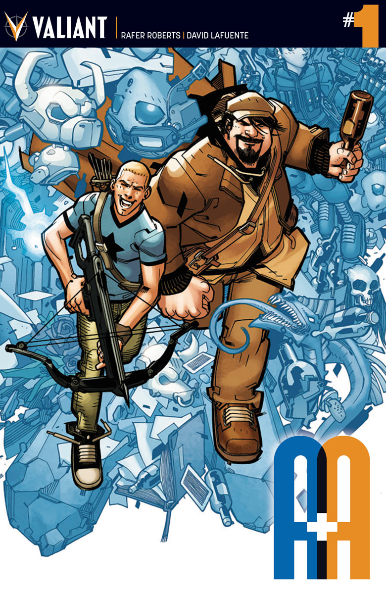 Advance Preview of Rafer Roberts and David Lafuente on A&A: The Adventures Of Archer & Armstrong #1
