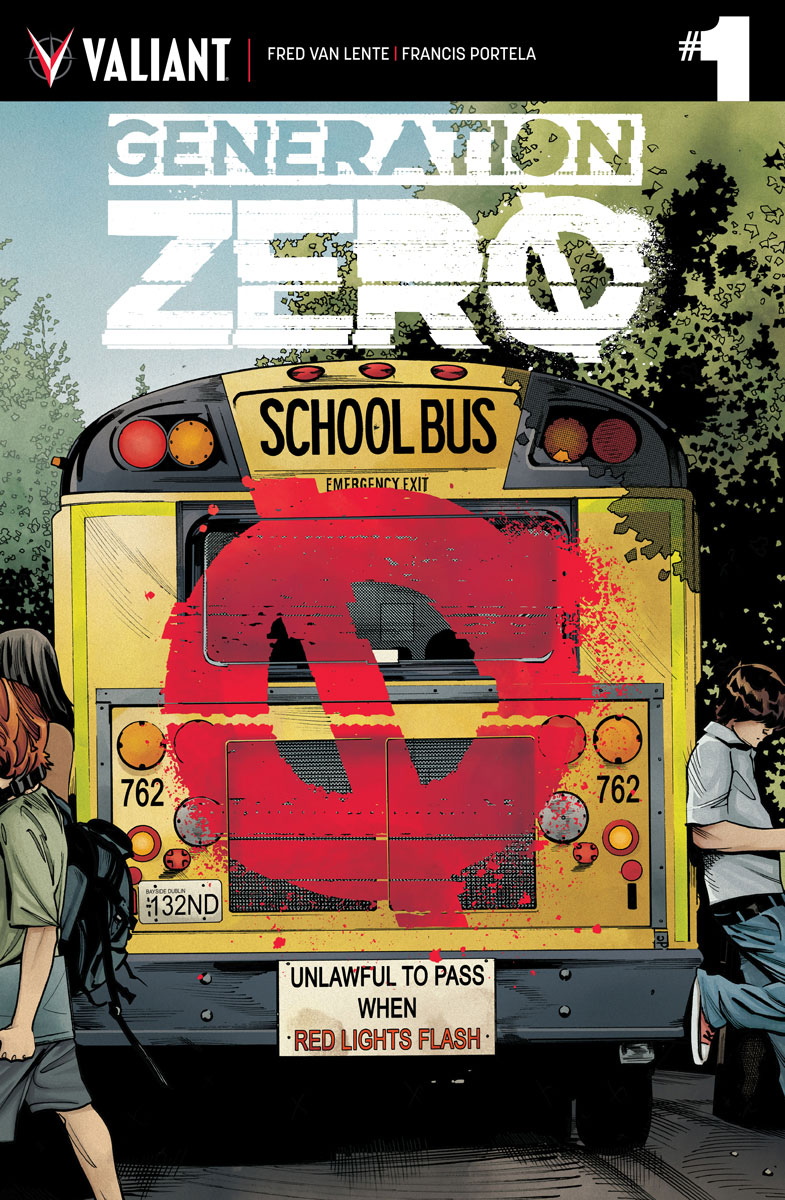 Advance Preview: GENERATION ZERO #1 by Fred Van Lente & Francis Portela