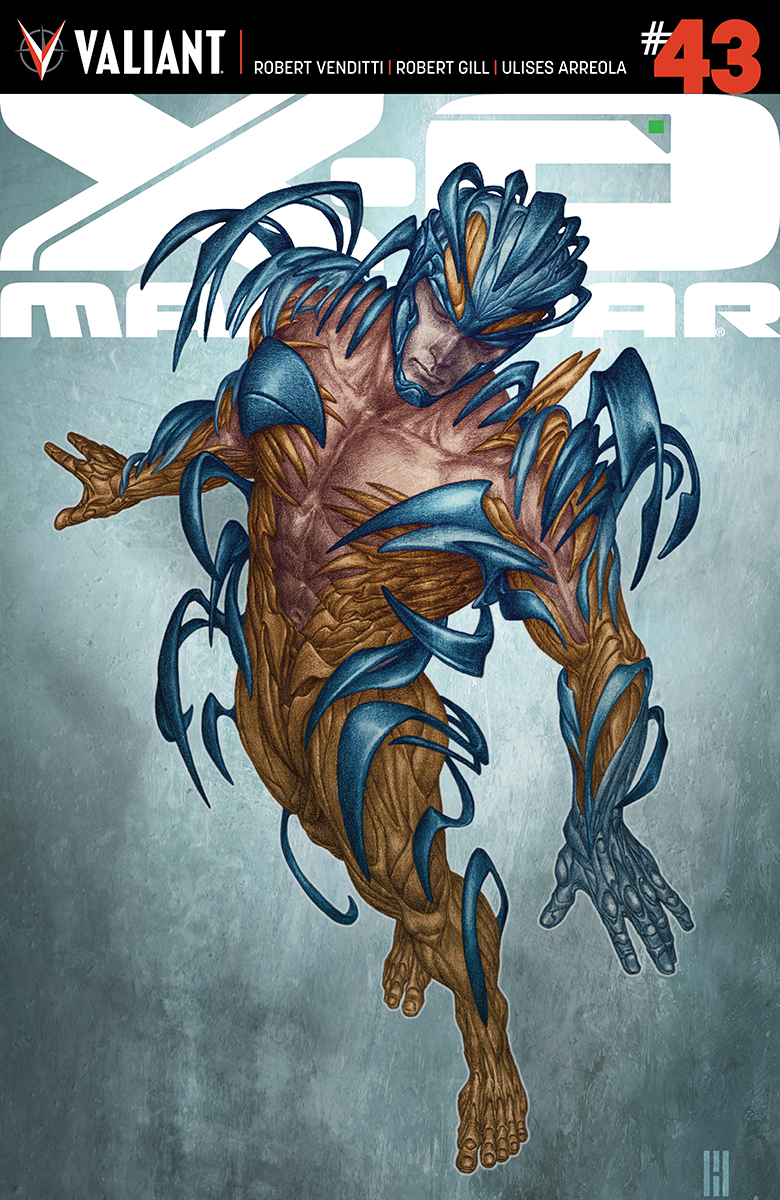 Robert Venditti & Robert Gill Reunite for The Kill List in X-O Manowar #43