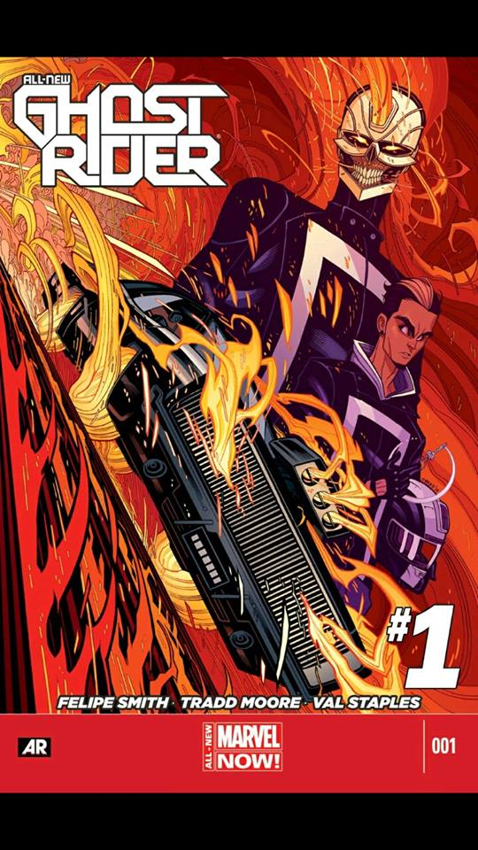 Marvel Unlimited Gets Grisbyed: All-New Ghost Rider #1