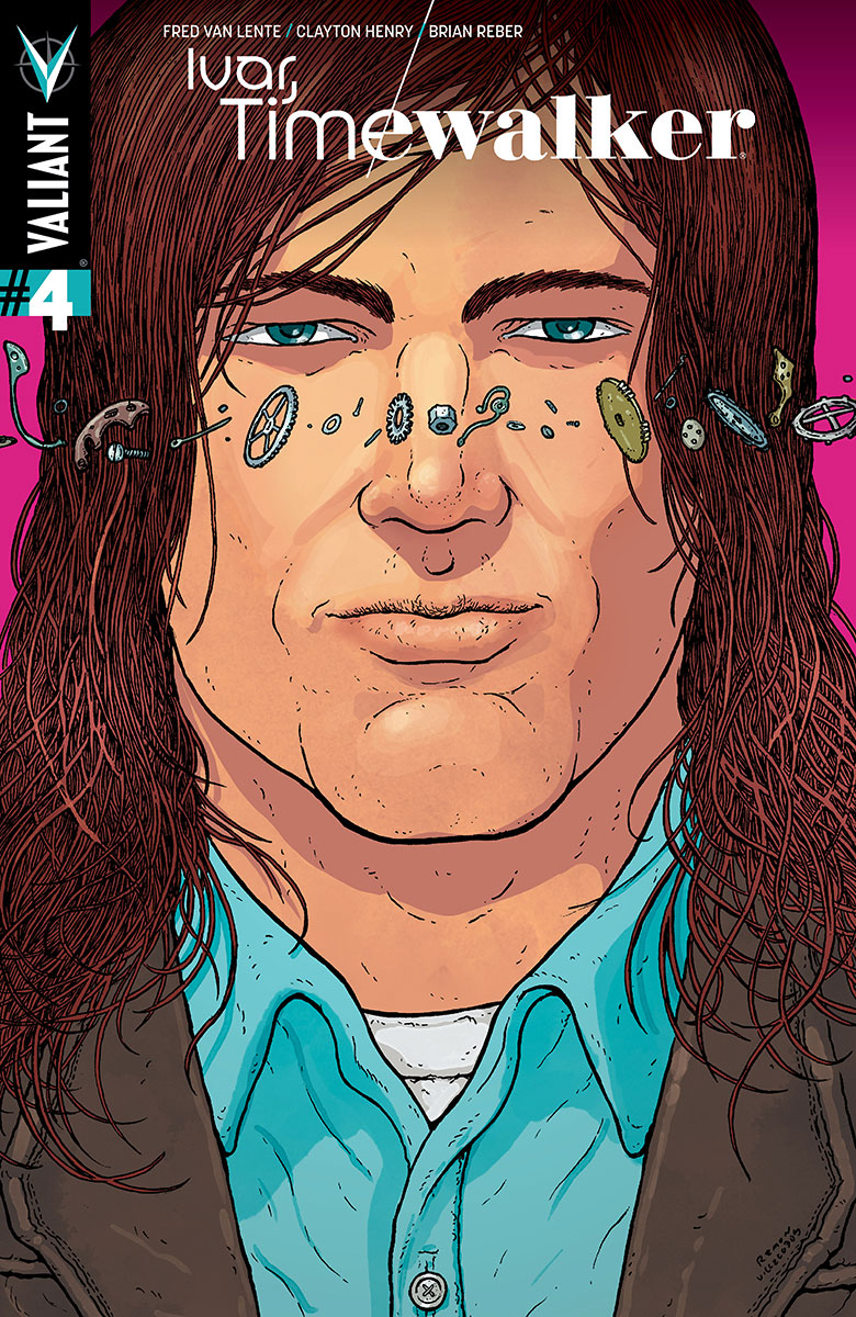 Preview:  IVAR, TIMEWALKER #4