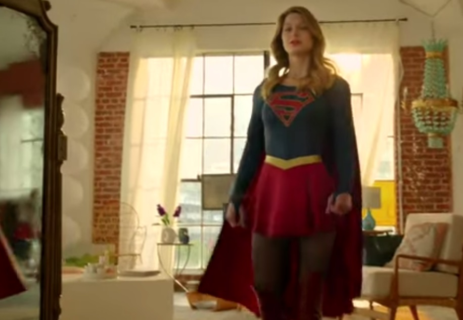 Debut Supergirl TV Trailer Takes Flight