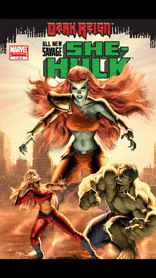 Marvel Unlimited Gets Grisbyed: All-New Savage She-Hulk #1