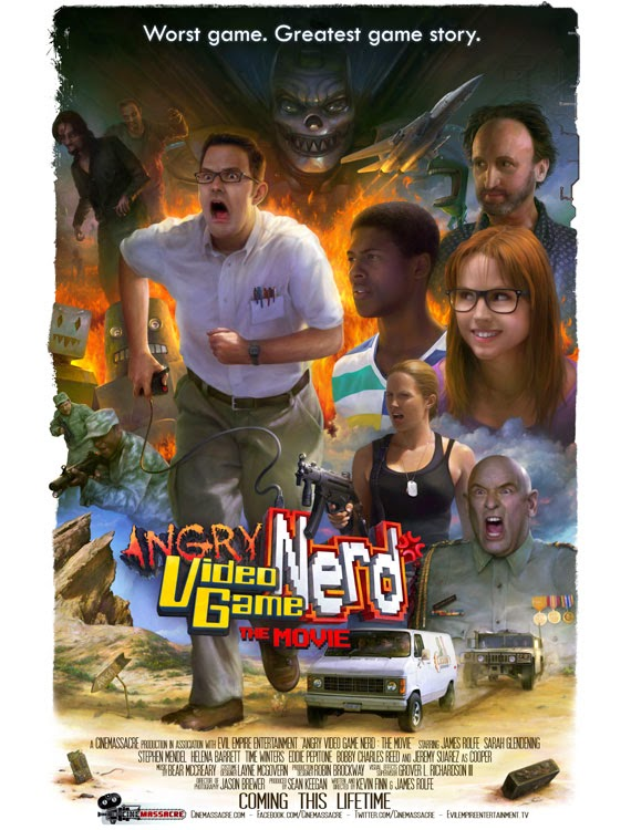 Fantasia Film Festival 2014: ANGRY VIDEO GAME NERD: THE MOVIE Review by Peter Georgoulis