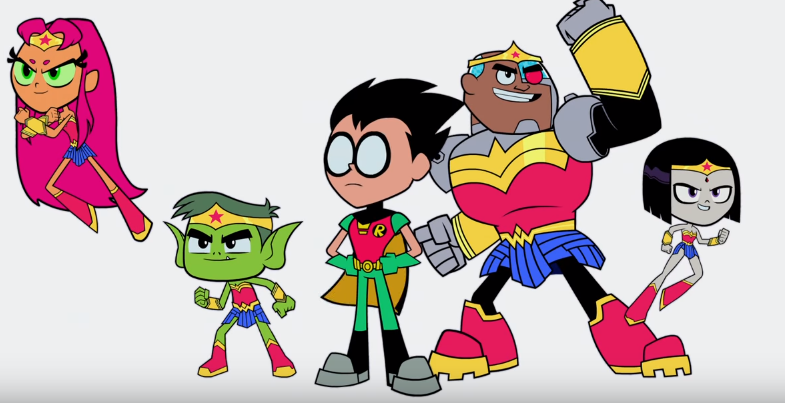 Teen Titans GO! To The Movies First Trailer